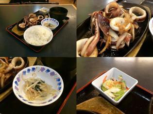 和食いちばん、イカ生姜焼4