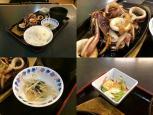 和食いちばんでイカ生姜焼き+定食セット