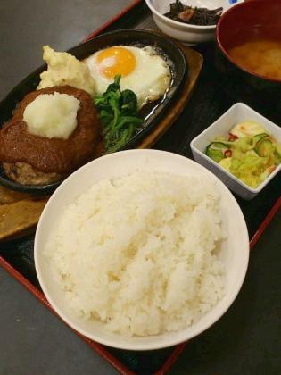 和食いちばん、ハンバーグ定食1