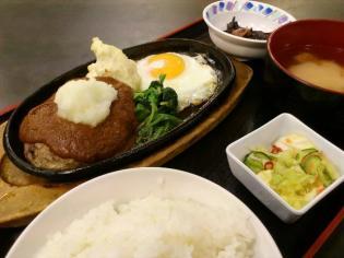 和食いちばん、ハンバーグ定食3
