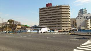 横浜駅西口から京急、神奈川新町駅まで歩く(内容は仲木戸駅まで)1