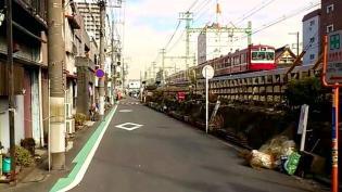 横浜駅西口から京急、神奈川新町駅まで歩く(内容は仲木戸駅まで)5