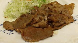 なりこま家生姜焼き定食5
