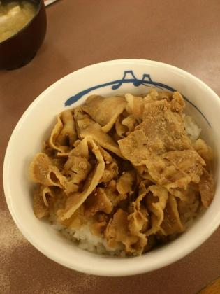 松屋 豚丼2