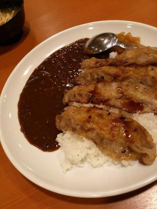 東京チカラめしで焼肉カレー(480円)3