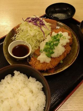 松乃家おろしとんかつ定食1