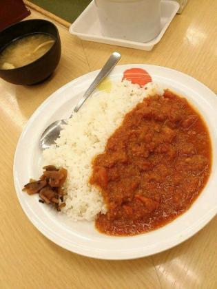 松屋桜木町フレッシュトマトカレー1