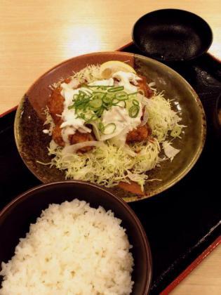 2012.06松乃家チキン南蛮定食2