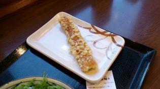 丸亀製麺、ぶっかけ(並)冷し、ちくわ天4