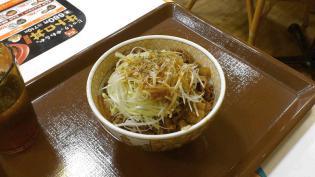 すき家白髪ねぎ牛丼(並)2