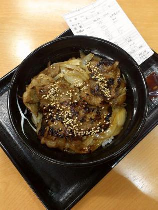 吉野家店舗限定牛焼肉丼(並)490円(2012.09)5