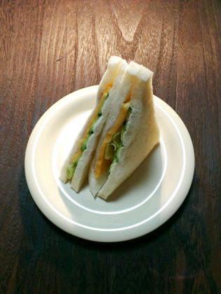 サンドーレ・どか弁のハムチーズサンド3