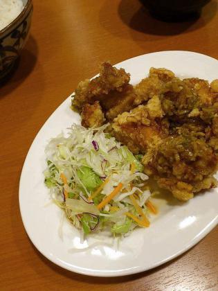東京チカラめしで油淋鶏定食3
