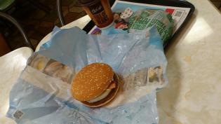 マクドナルド、月見バーガー4