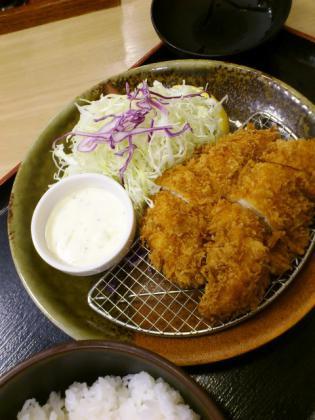 201210-松乃家500円メニューチキンカツ定食2