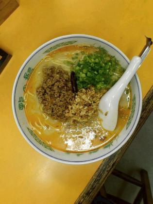 桜ヶ丘駅~、龍の髭で坦々麺3