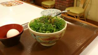 すき家ねぎ玉牛丼ミニ3