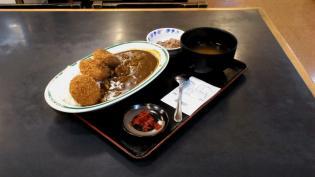 和食いちばんでメンチカツカレー3