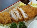 和食いちばんでとんかつ定食