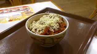 すき家キムマヨ牛丼ミニ3