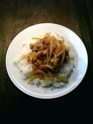 自炊 豚焼肉のっけ飯3