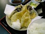 和食いちばんでキス野菜天定食