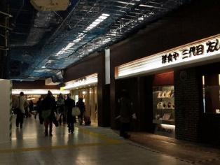 上野駅構内ecute Ueno(エキュートうえの)の洋食や三代目たいめいけんでハヤシライス。1