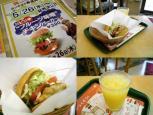 2011.05.26- (コ)(数)スッキリ第3弾ピリ辛フルーツ味噌チキンバーガー