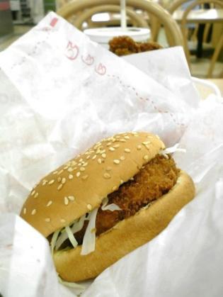 ドムドムハンバーガー、夏限定プリッぷりっエビカツバーガーとドムチキン、コーラS2