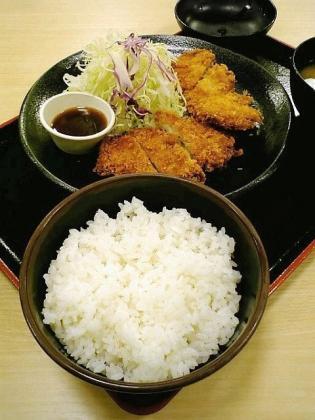 松乃家バラか定食1