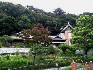 キッチンまつ(根岸)、根岸なつかし公園 旧柳下邸2