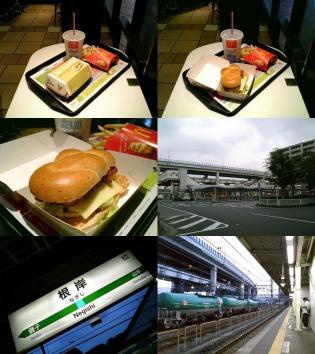 マクドナルド根岸駅前店にてアイコンチキン ソルト&レモンセット3