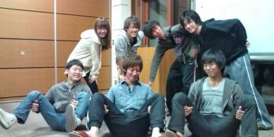 交流合宿2010:百人一首負けチーム