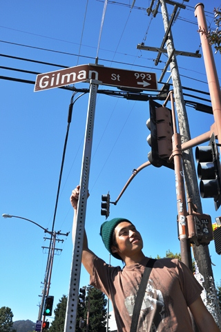 ギルマンでブラックアウト!