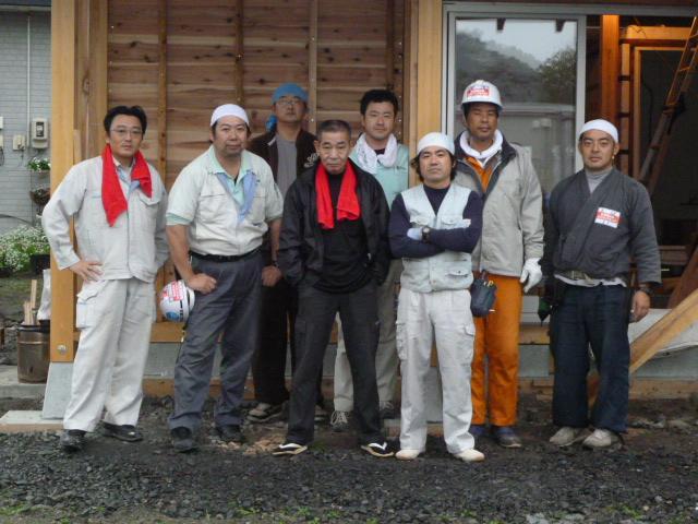 木造仮設住宅建設ボランティア