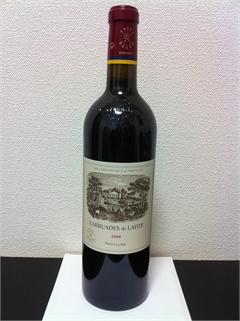 ワインと映画とエトセトラ・・・徒然日記 カリュアド・ド・ラフィット