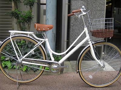 かわいい愛車 シティサイクル