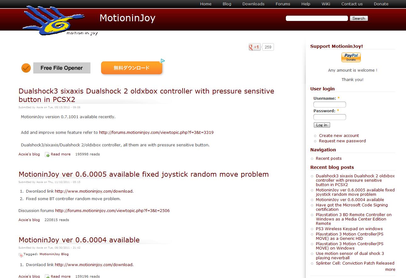 Motioninjoy Drivers 32-bit Download