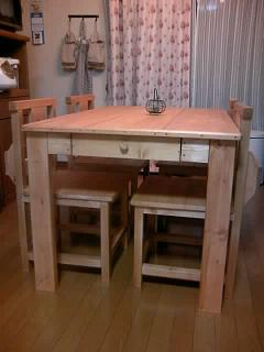 テーブル2 ブログ