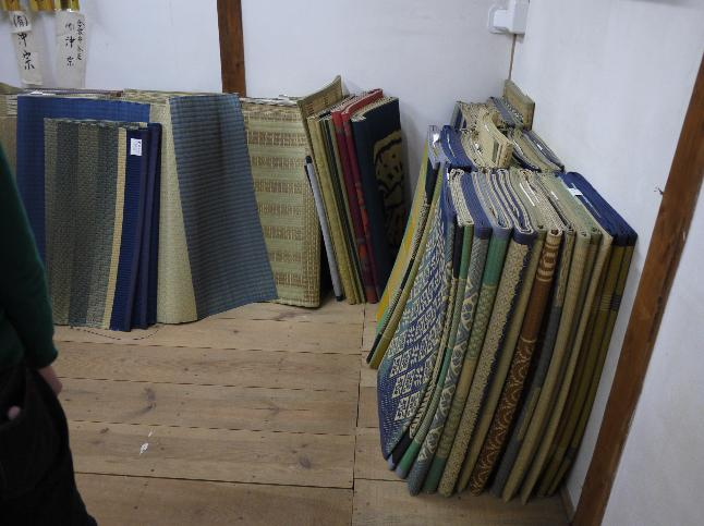 Japanese rush mat