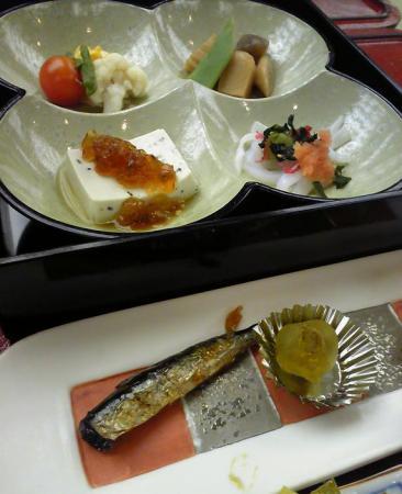 cuisine of bishunnkaku