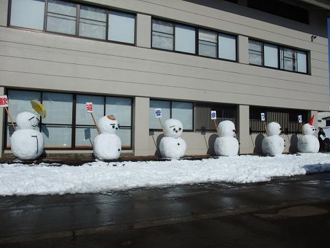2歓迎雪だるま