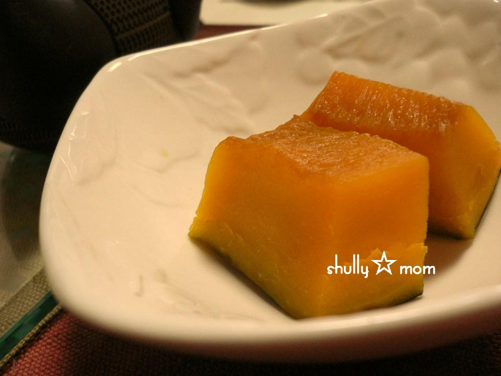 ほっくりかぼちゃの煮つけ