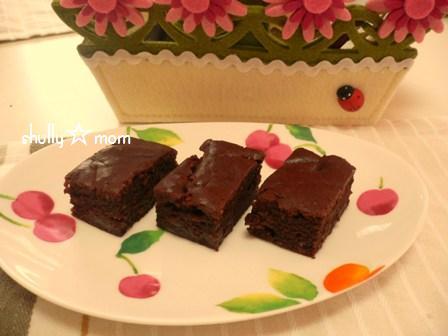 ママ友さんのラム酒チョコレートケーキ