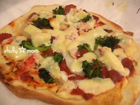 冷凍庫へイン!de作り置きピザ生地