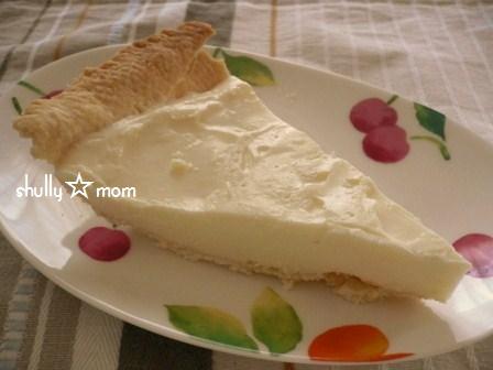 意外と簡単!?レアチーズケーキ