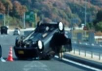 ハウスクリーニングの道中で・・・事故