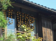 ハウスクリーニング・季節・干し柿