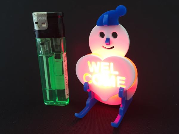 LEDスノーマン01