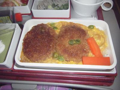 中華航空機内食3